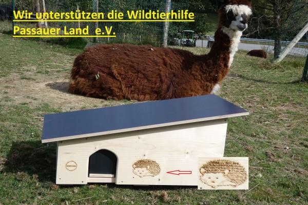 XXXL Igelhaus Natur unbehandelt 80cm x 40cm x 32cm-Copy
