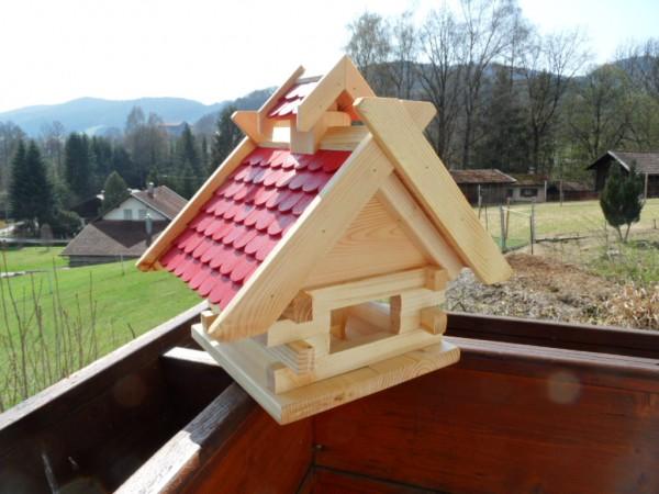 Blockhaus XL rotes Dach